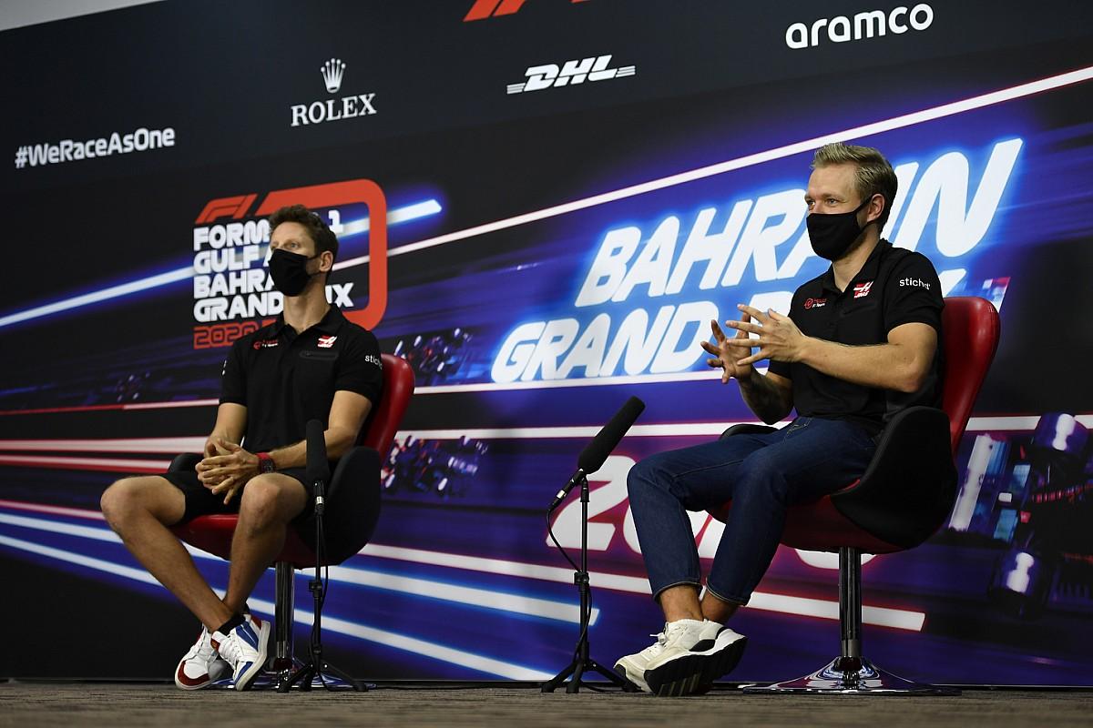 """Magnussen: """"Grosjean'ı sıralama turlarında yenmek çok zor"""""""