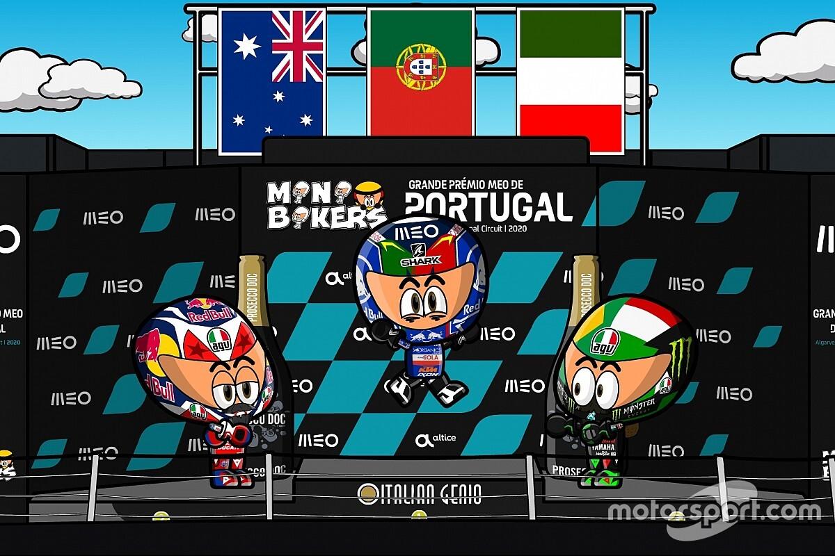 Vídeo: el GP de Portugal que cerró la temporada 2020 de MotoGP, por MiniBikers