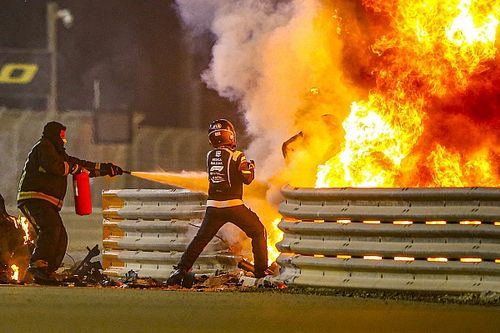 Grosjean: Kematian Ada di Depan Mata Saya