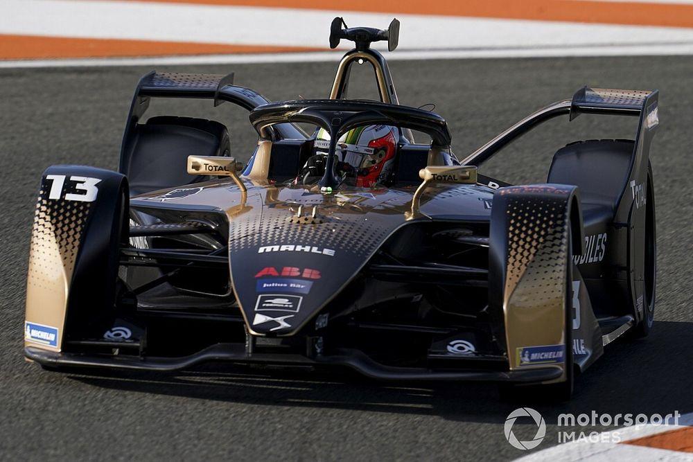 Fórmula E: el campeón Da Costa lidera la segunda mañana de test en Valencia