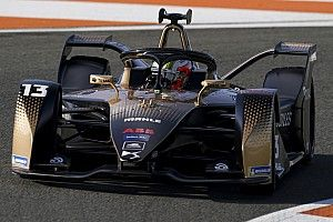 Da Costa tops second morning at Valencia FE test