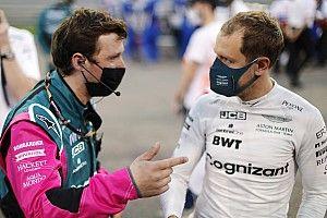 Vettel'in performansı Aston Martin'i endişelendirmiyor