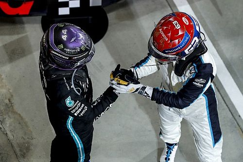 Williams ve a Russell al nivel de los inicios de Hamilton en F1