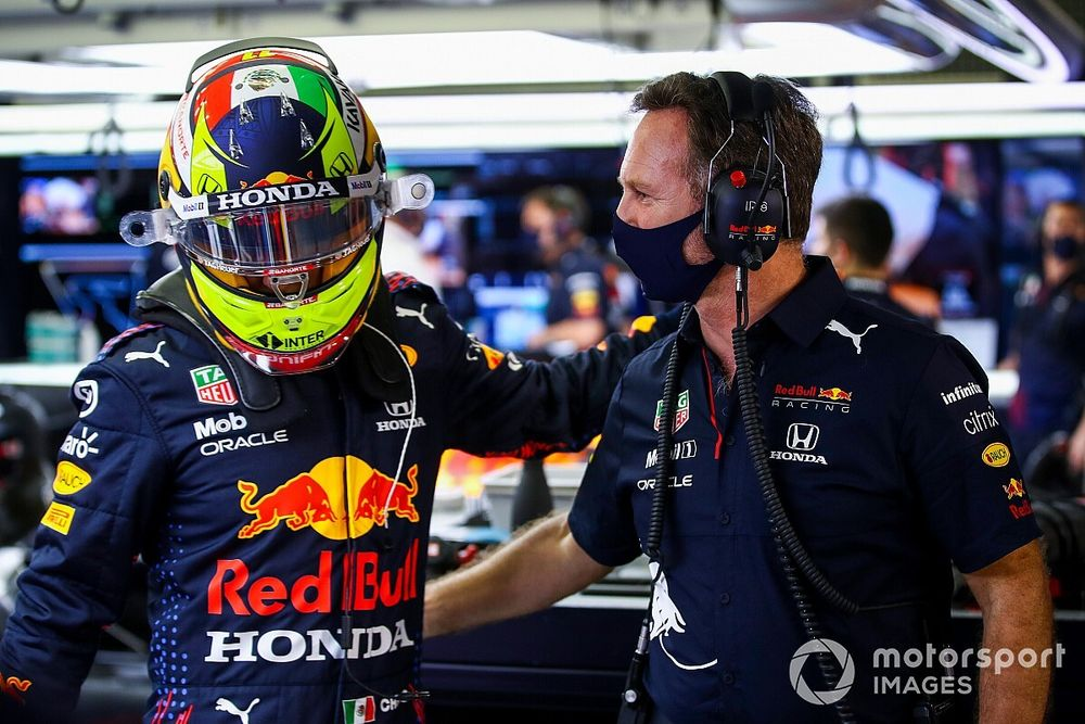 """Perez """"has to be patient"""" with himself after Bahrain Q3 miss"""