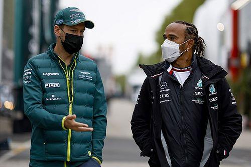 Hamilton i rywalizacja z Vettelem
