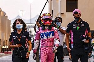 ペレス、ドライバーズランキング4位に満足も最終戦リタイア「信頼性が低かった」