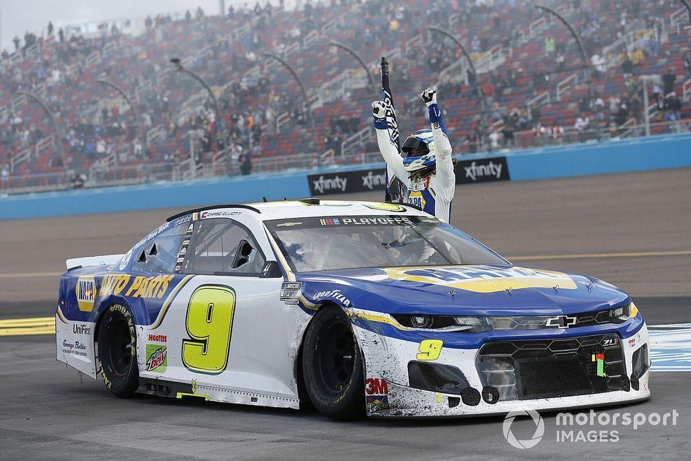 Chevrolet praises Elliott's 'clutch performance' to win title
