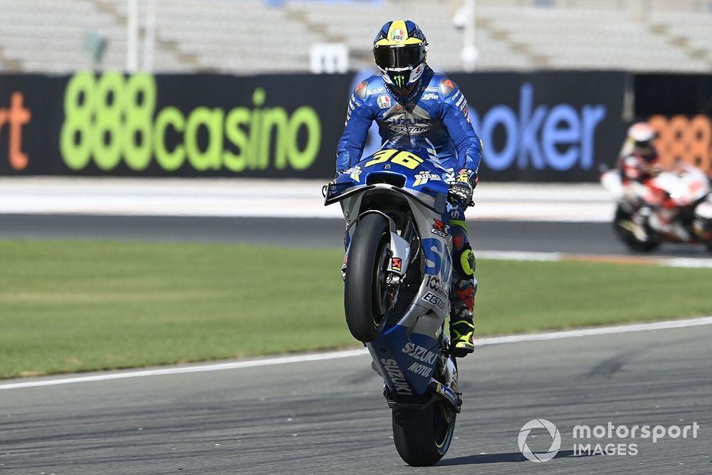 MotoGP Valencia: Morbidelli kazandı, Joan Mir şampiyon oldu!