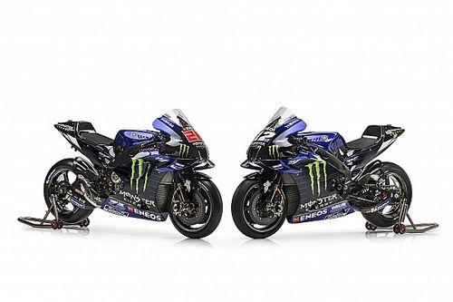 Yamaha presentó su M1 para el MotoGP 2021