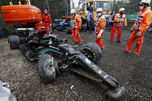 Hoe een 'million dollar F1 crash' het budgetprobleem blootlegt