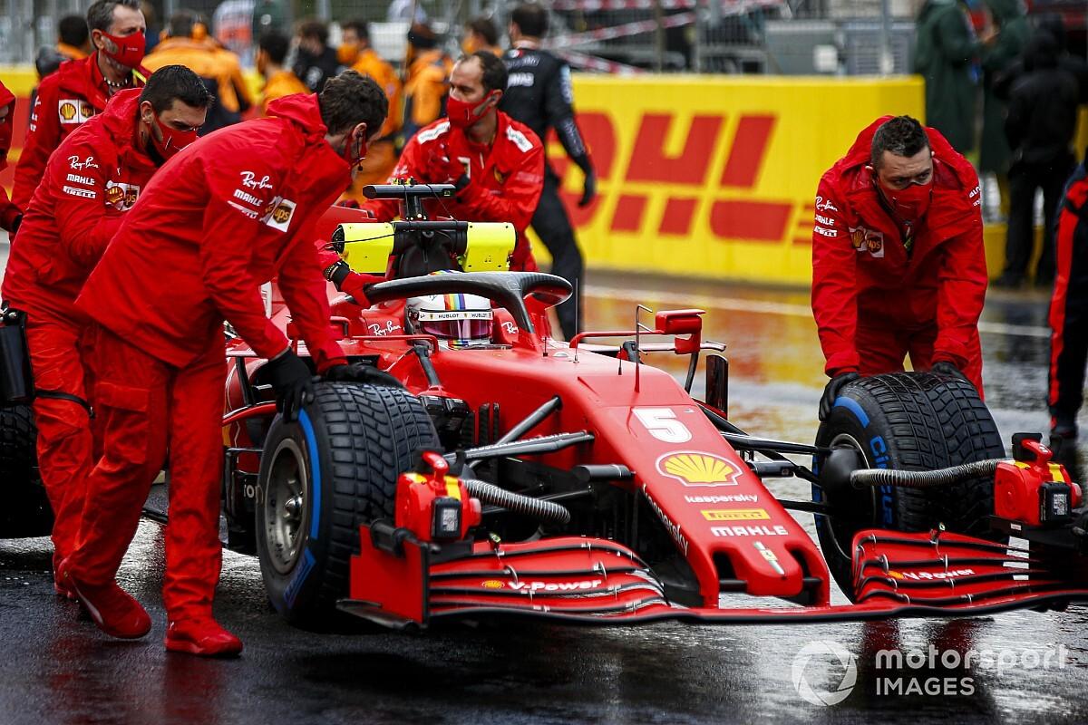 """Vettel nagyot ment: """"Élvezetes volt a trükkös körülmények között menni!"""""""