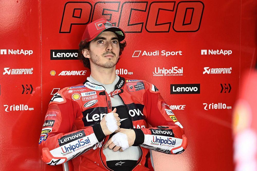 Bagnaia ne se sent pas numéro 2 chez Ducati