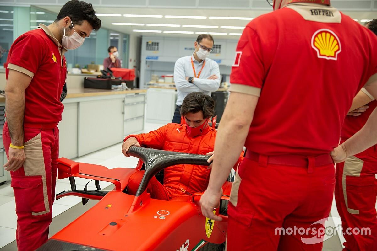 """Sainz aura peu d'essais avec Ferrari mais """"aime ce genre de défi"""""""