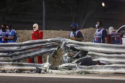 FIA Modifikasi Dinding Pembatas yang Ditabrak Grosjean