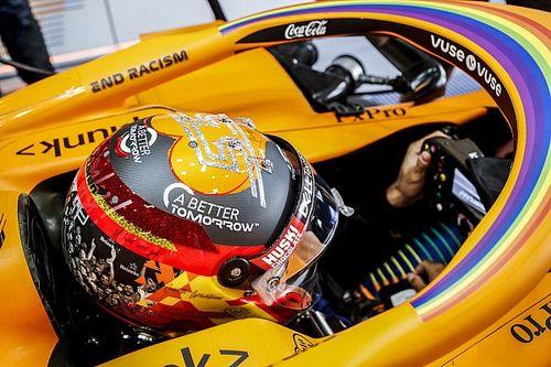 F1: Os capacetes especiais de Vettel, Russell, Sainz e cia em Abu Dhabi