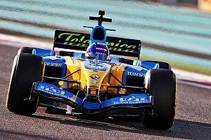 Fernando Alonso: Demorunden im WM-Auto von 2005
