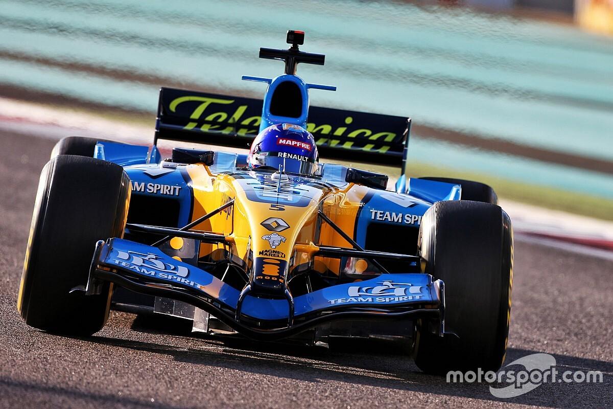 En images : Alonso a repris le volant de la Renault R25