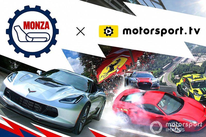 Motorsport.tv retransmitirá carreras en directo del circuito de Monza