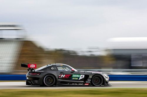 Mercedes leads first day of DTM testing with GT3 cars