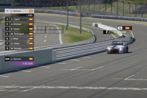 Serrano gana la primera cita del Campeonato de España de Gran Turismo