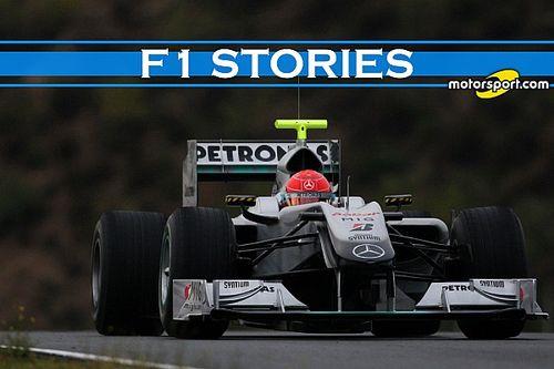 F1 Stories: W01, la prima Mercedes di Schumacher