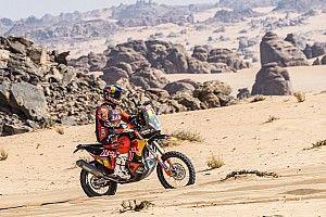 Toby Price chute et abandonne le Dakar