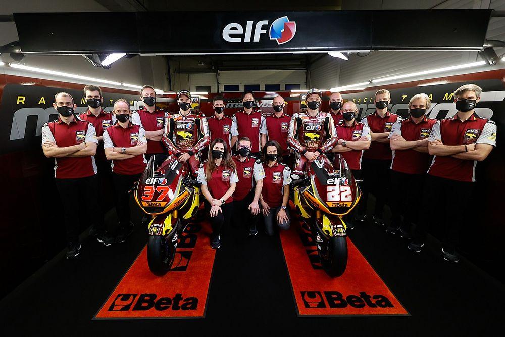 Marc VDS de Moto2 se presenta con Lowes, Fernández y nuevo patrocinador