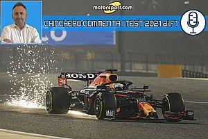 F1, Test Bahrain 2021, Giorno 1: l'analisi podcast di Chinchero