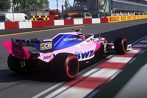 Nézd meg teljes egészében a parádés virtuális nagydíjat, amit Leclerc nyert meg a Ferrarival