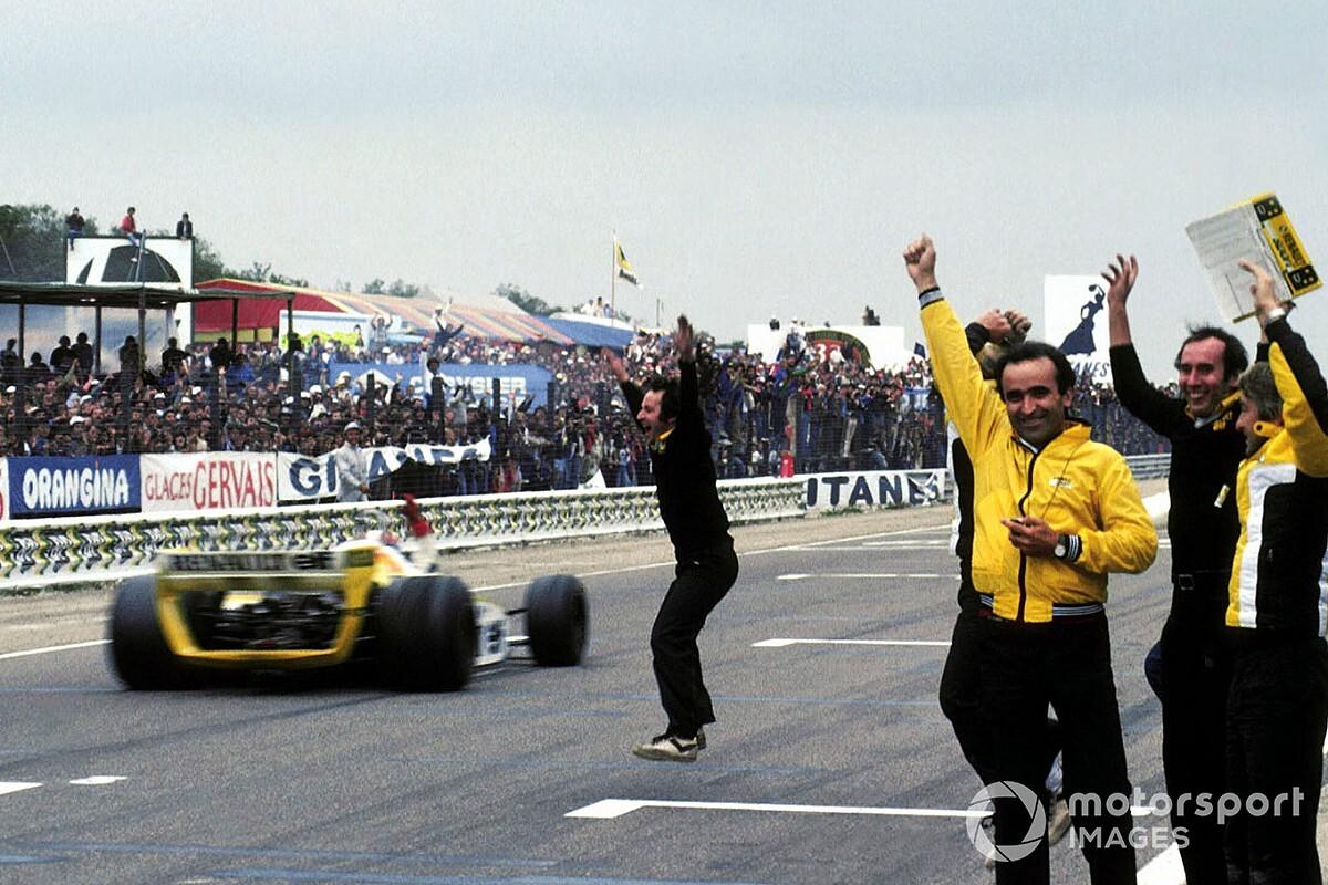 A Renault első F1-es győztes autója: több mint lenyűgöző - 40 év