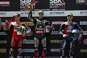 Bautista no da opción en la primera carrera en Jerez