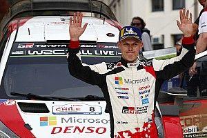 WRCチリ|トヨタのタナクが圧勝で今季2勝目。ボーナスポイントも荒稼ぎ