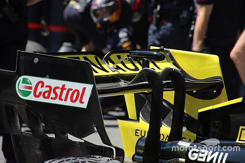 Технический брифинг: Renault изменила заднее крыло, чтобы добавить прижимной силы