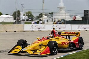 Detroit IndyCar: Hunter-Reay tops final practice/warm-up