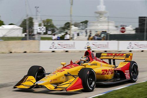 Detroit IndyCar: Hunter-Reay tops final practice/warm-up