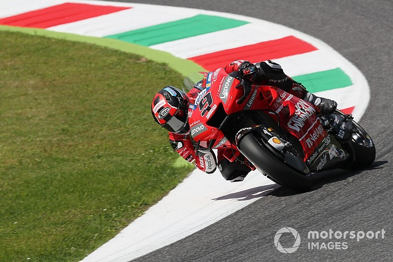 MotoGP, Mugello, Libere 3: Petrucci vola, Dovizioso e Rossi finiscono in Q1!