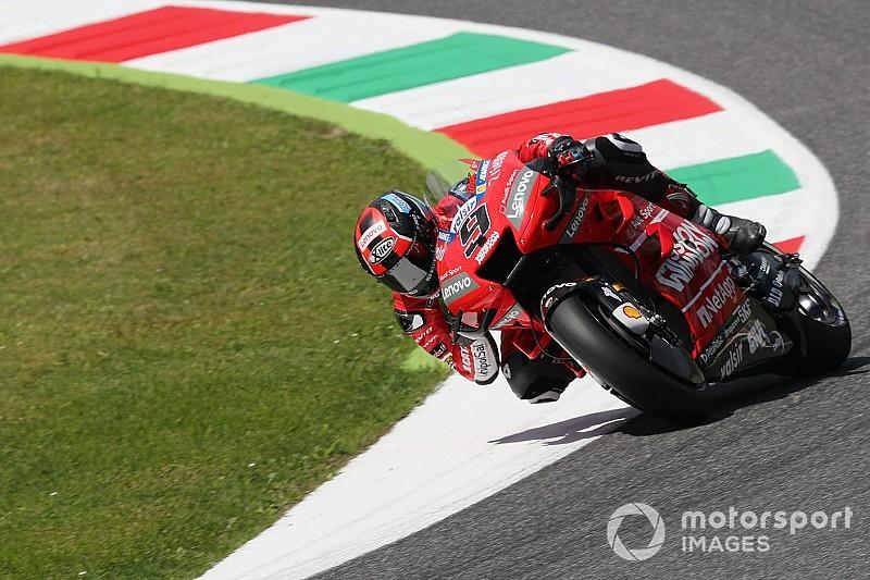 Petrucci manda en la 3° práctica; Dovizioso y Rossi van a la Q1