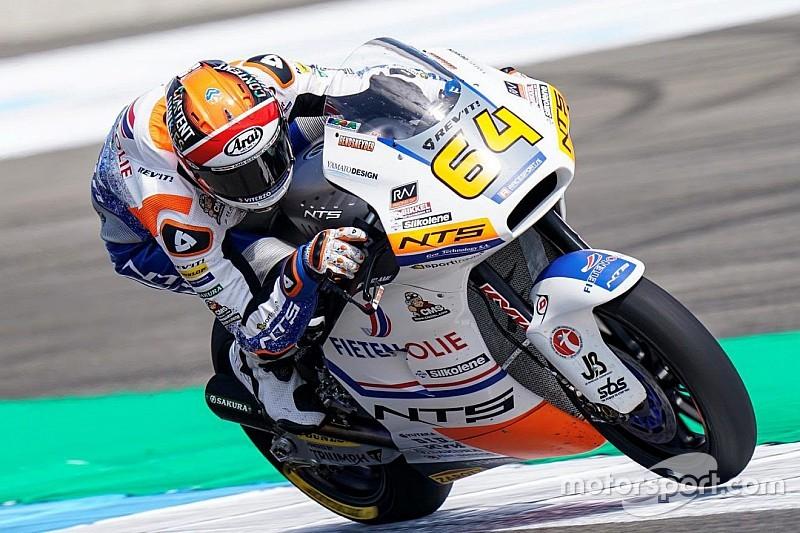 Moto2 Assen: Bendsneyder P24 in kwalificatie, pole voor Gardner