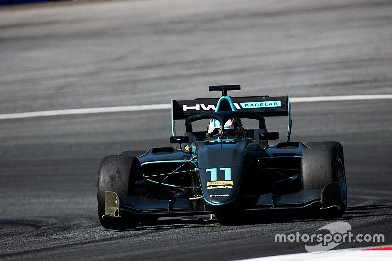 Red Bull Ring F3: Hughes wins after Shwartzman penalty