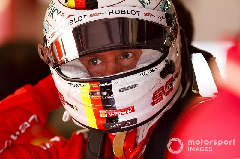 Vídeo: el susto de Vettel que le impidió hacer un tiempo representativo