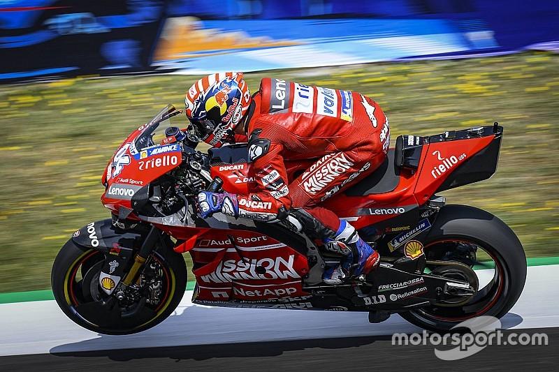 Soal ingin kalahkan Marquez, Dovizioso peringatkan Ducati