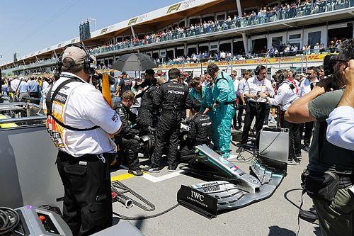 Mercedes não sabia se Hamilton ia começar e terminar GP do Canadá