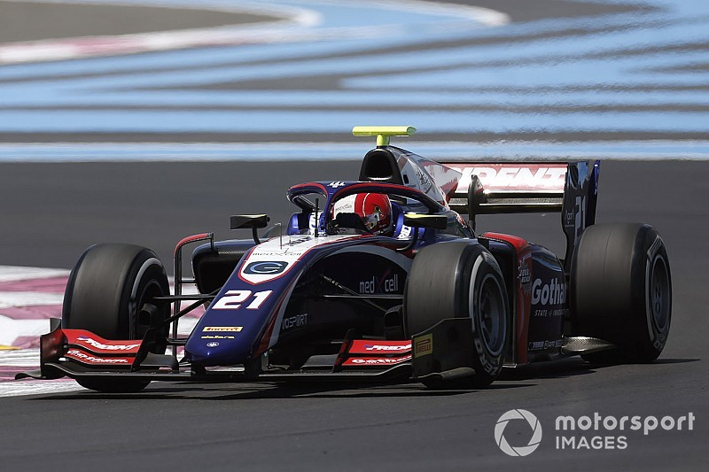Diaporama: les suisses Ralph Boschung, Louis Delétraz et Sauber Junior Team au GP de France