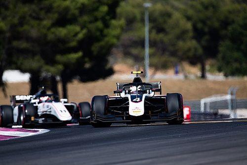 F2フランス・レース1:デ・フリーズ独走優勝。松下信治は接触が響き9位に