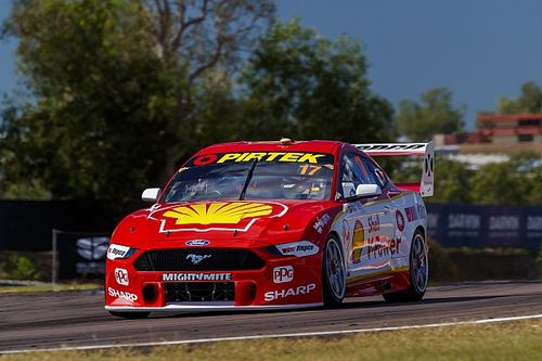 Darwin Supercars: McLaughlin takes Penske's 600th pole