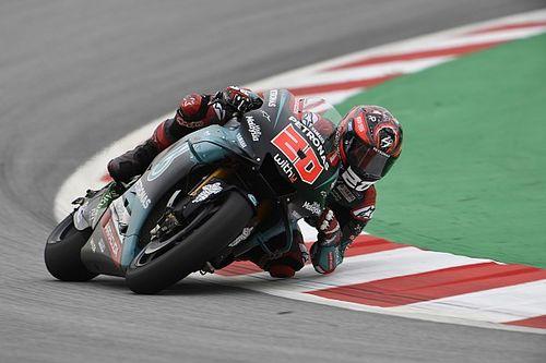 Куартараро стал лучшим на второй тренировке MotoGP в Барселоне, Маркес – 17-й