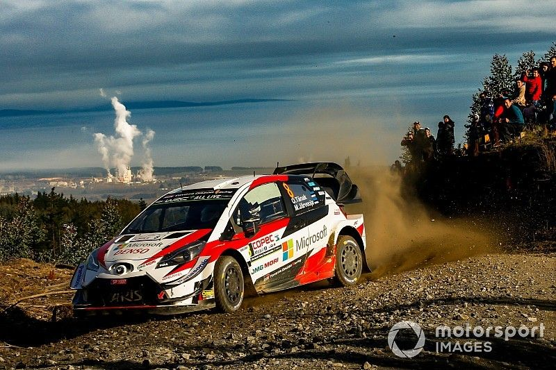 Chile WRC: Tanak leads Ogier, Latvala forced to retire