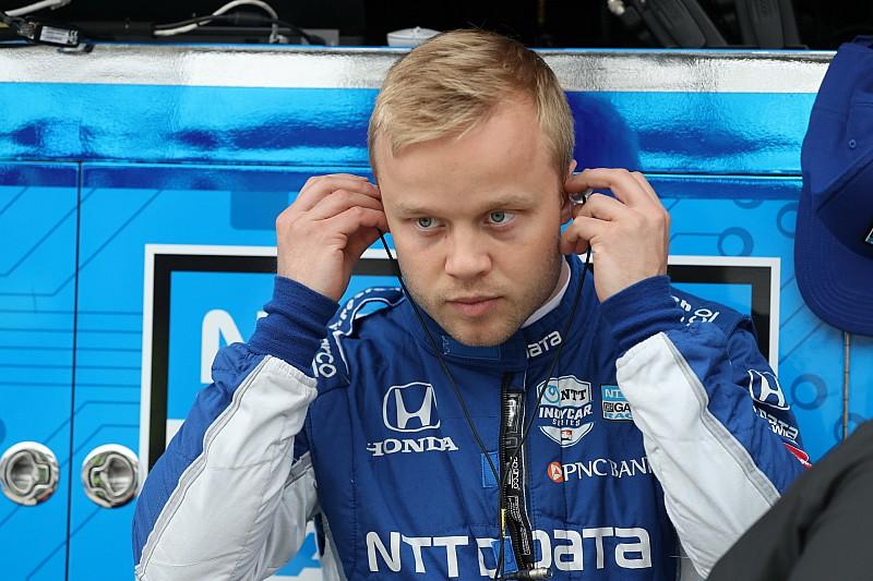 Pierwsze pole position Rosenqvista