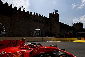Leclerc lidera una accidentada sesión de libres 2 en Bakú