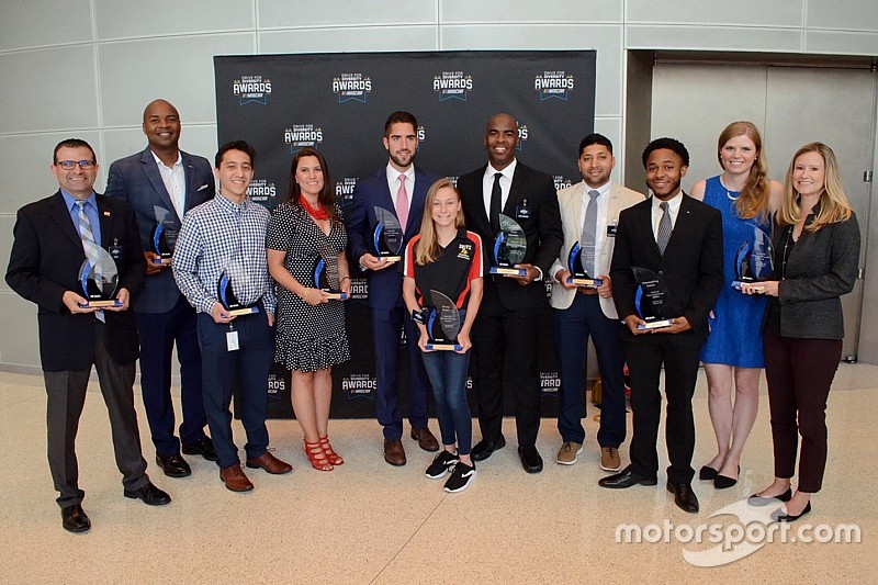 NASCAR Diversity Awards recognize champions of program
